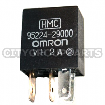 HYUNDAI KIA OMRON MULTI PURPOSE FUNCTION BLACK  RELAY 95224 29000 4 PINS